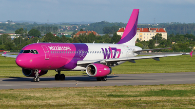 HA-LPQ - Airbus A320-232 - Wizz Air