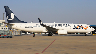 A picture of B7976 - Boeing 73785N - Shandong Airlines - © Dream it possible.