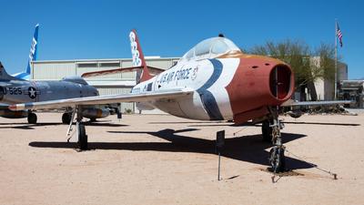 52-6563 - Republic F-84F Thunderstreak - Pima Air and Space Museum