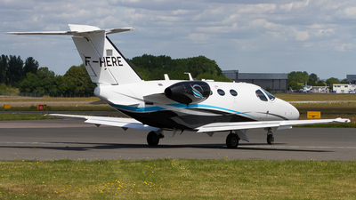 F-HERE - Cessna 510 Citation Mustang - Private