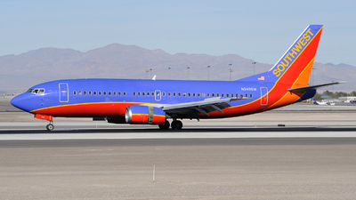 N349SW - Boeing 737-3H4 - Southwest Airlines