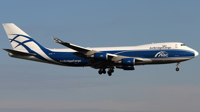 VQ-BIA - Boeing 747-4KZF(SCD) - Air Bridge Cargo