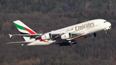 A6-EUB - Airbus A380-861 - Emirates