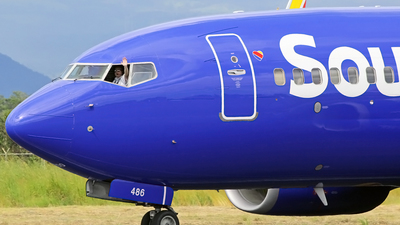 N486WN - Boeing 737-7H4 - Southwest Airlines