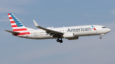 A picture of N961AN - Boeing 737823 - American Airlines - © Yixin Chen