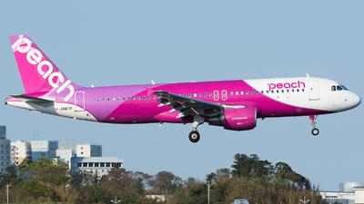 A picture of JA817P - Airbus A320214 - Peach - © Yuki K