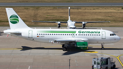D-ASTF - Airbus A319-112 - Germania