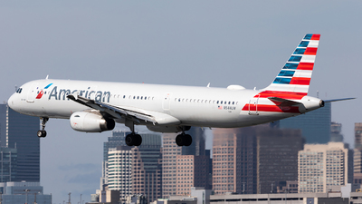 N544UW - Airbus A321-231 - American Airlines