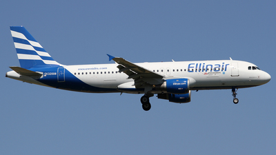 EK32008 - Airbus A320-211 - Ellinair (Atlantis European Airways)