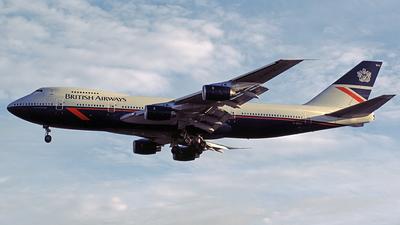 G-BDXA - Boeing 747-236B - British Airways