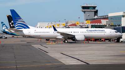 A picture of HP9901CMP - Boeing 737 MAX 9 - Copa Airlines - © Ivan Jimenez Rojas
