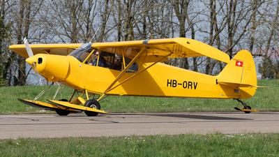 A picture of HBORV - Piper PA18150 Super Cub - [18MDC1040] - © Alexandre Fazan
