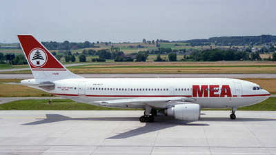 PH-AGF - Airbus A310-203 - Middle East Airlines (MEA)