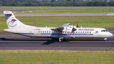 D-AEWG - ATR 72-212 - Eurowings