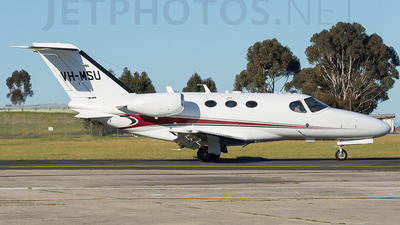 A picture of VHMSU - Cessna 510 Citation Mustang - [5100300] - © James Pentland