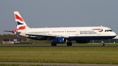G-EUXE - Airbus A321-231 - British Airways