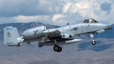 78-0584 - Fairchild A-10C Thunderbolt II - United States - US Air Force (USAF)
