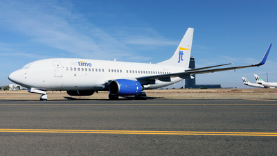 A picture of OYJTY - Boeing 7377Q8 - [30727] - © Javier Rodriguez - Amics de Son Sant Joan
