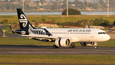 A picture of ZKNHD - Airbus A320271N - Air New Zealand - © Daniel Talbot