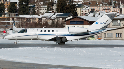 M-NTOS - Cessna 525 Citation CJ4 - Private