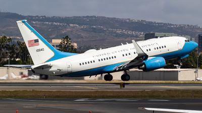 01-0040 - Boeing C-40B - United States - US Air Force (USAF)