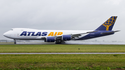 N855GT - Boeing 747-87UF - Atlas Air