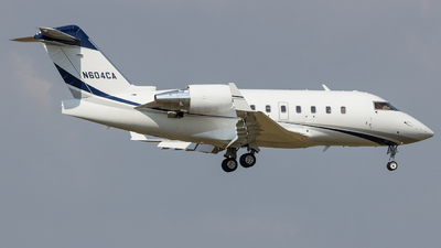 N604CA - Bombardier CL-600-2B16 Challenger 604 - Private