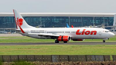 PK-LGR - Boeing 737-9GPER - Lion Air