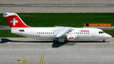 HB-IXW - British Aerospace Avro RJ100 - Swiss
