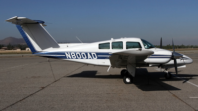 N800AD - Beechcraft 76 Duchess - Private