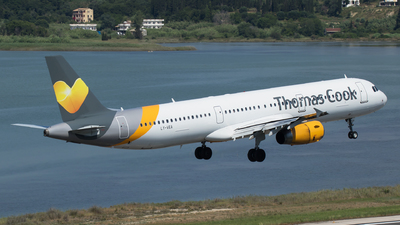 LY-VEA - Airbus A321-231 - Thomas Cook Airlines (Avion Express)