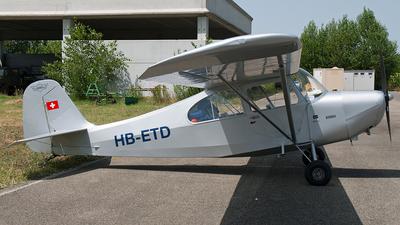 A picture of HBETD - Aeronca 7AC (CONV) Champion - [7AC3490] - © Andrea Buzzacchi