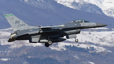 89-2044 - Lockheed Martin F-16CG Fighting Falcon - United States - US Air Force (USAF)