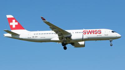 HB-JCH - Bombardier CSeries CS300 - Swiss