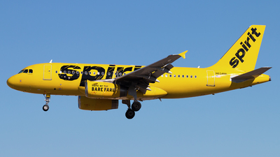 N534NK - Airbus A319-132 - Spirit Airlines