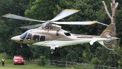 G-CKIH - Agusta-Westland AW-109SP GrandNew - Private