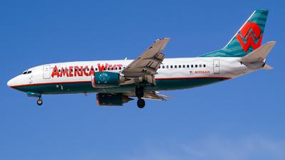 N334AW - Boeing 737-3Y0 - America West Airlines