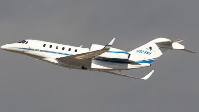 N228WH - Cessna 750 Citation X - Private