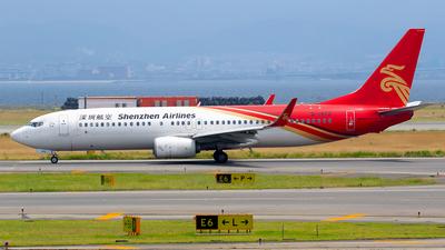B-1972 - Boeing 737-87L - Shenzhen Airlines