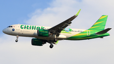 A picture of PKGTI - Airbus A320251N - Citilink - © Akangaviation