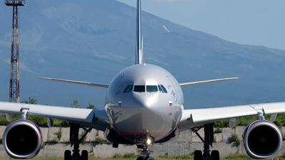 VQ-BPI - Airbus A330-343 - Aeroflot