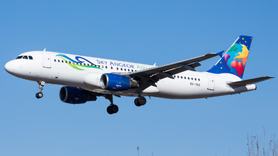 XU-709 - Airbus A320-214 - Sky Angkor Airlines