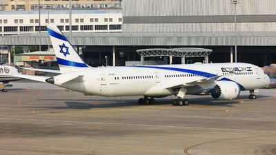 A picture of 4XEDJ - Boeing 7879 Dreamliner - El Al - © TANG MIN XIN