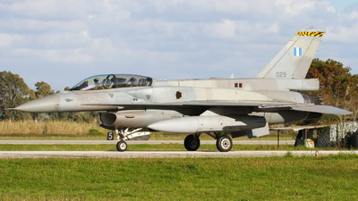 029 - Lockheed Martin F-16D Fighting Falcon - Greece - Air Force