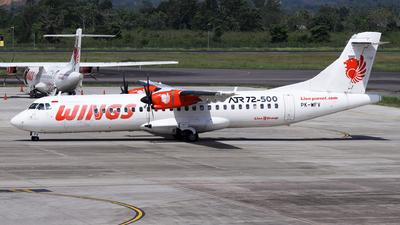 PK-WFV - ATR 72-212A(500) - Wings Air