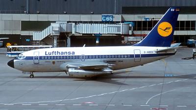 D-ABEU - Boeing 737-130 - Lufthansa