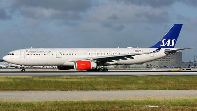LN-RKH - Airbus A330-343 - Scandinavian Airlines (SAS)