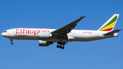 A picture of ETAWE - Boeing 777F - Ethiopian Airlines - © YunHyeok Choi