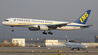 A picture of B2831 - Boeing 7572Y0 - China Postal Airlines - © SEN BAI