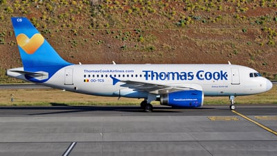 OO-TCS - Airbus A319-132 - Thomas Cook Airlines Belgium